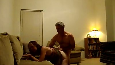 Milf Jane caught on spy camera with sex buddy