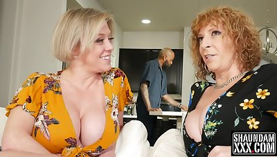 2 Big-Breasted Pawg Adult Dee Williams and Sara Jay