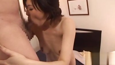Sexy teat fuck in pose 69