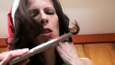 Mature amateur wife toys sucks with the addition of fucks with cumshot