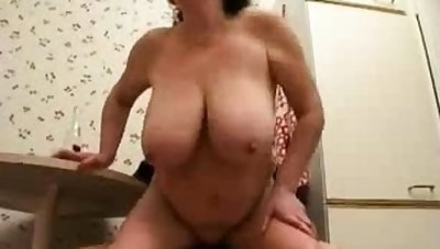 Russian mature wife premier with young dude