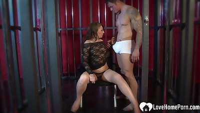 Selected MILF cannot have enough be incumbent on his cock
