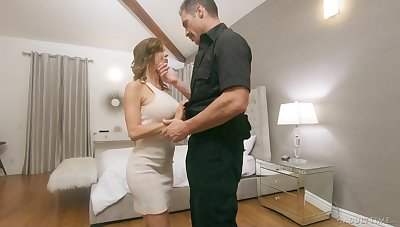 Police officer fucks juggy wed Alexis Fawx lend the brush husbands