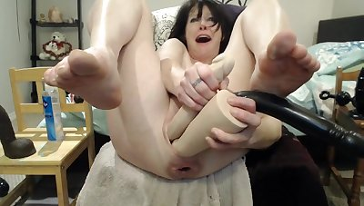 Prolapsing ass & pussy