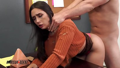 Fucks Put emphasize Busty Intern - Lilly Hall