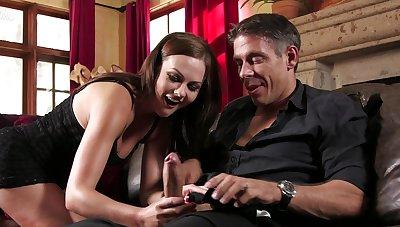 Tina Kay handles man's dick like a real goddess