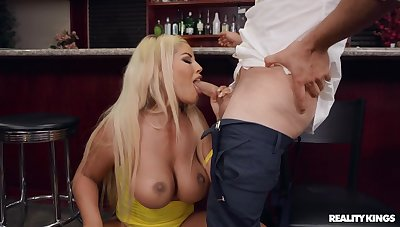 Cocktail Tease with big ass MILF pornstar Bridgette B and Van Wylde - without a doubt hardcore