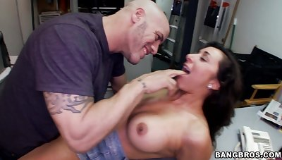 KayLynn gets her pussy fucked hard on chum around with annoy post table overwrought her boss