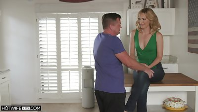 Tyrannical obsessiveness in home cuckold with a hot become man