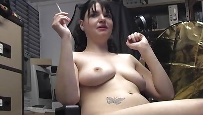 Amateur video be beneficial to natural boobs wife Teona Styles masturbating