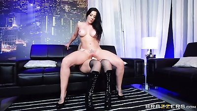Slay rub elbows with Submissive Stripper
