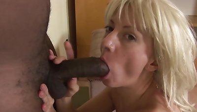 Extreme big natural breast milf enjoys her artful interracial big treacherous cock anal fuck mission