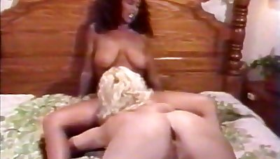 1987 - Real Individuals Eat Keisha - 01 With Kristara Barrington, Tamara Longley Together with Sharon Mitchell
