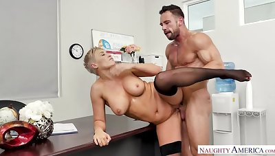 Horny Boss Ryan Keely Takes a Dirty Acquisition For a Misdeedd
